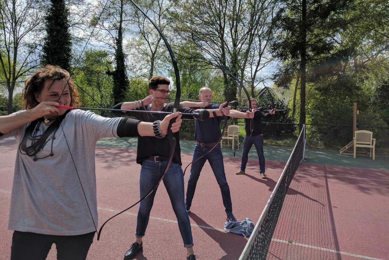 Arrow Battle Paasloo Bij Restaurant Het Binnenhof Paasloo