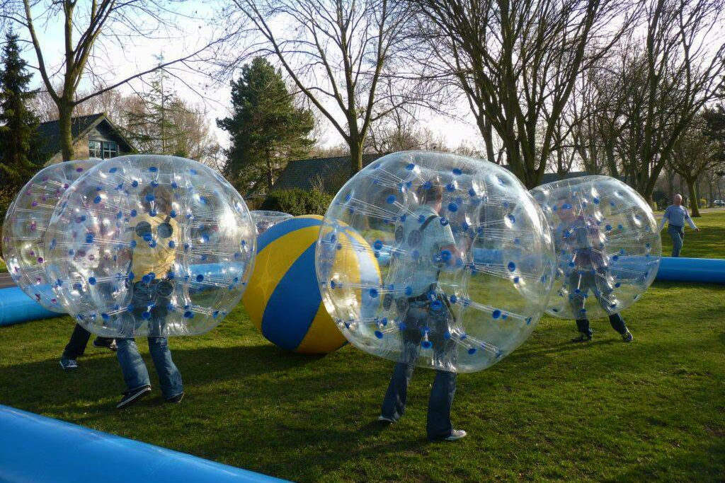 Giethoorn tips: Bubble Voetbal - Bubbel Voetbal