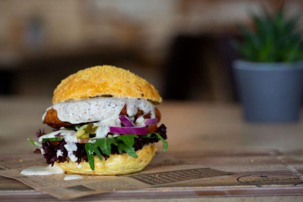 Veggie Deluxe Hamburger Eetcafé Giethoorn Burgers & Grill Restaurant